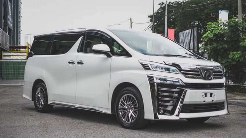 Toyota Vellfire 3.5 EL
